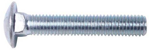 "BCGSS5/8C18 5/8-11 X 18 CARRIAGE BOLT SS WITH 6"" THREAD"