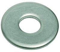 "1/4 ""D"" FENDER WASHER WITH 1/8"" SHOULDER .050 THK 316SS -"