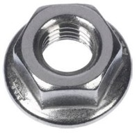 B-6923A2M10 HEX FLANGE NUT, SERRATED
