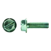 SLOTTED INDENTED HEX WASHER HEAD MACHINE SCREWS