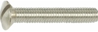 SLOTTED OVAL HEAD MACHINE SCREWS