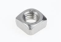 NSQSS3/8C 3/8-16 SQUARE M/S NUTS SS .254 HGT