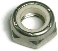 THIN PATTERN NYLON INSERT LOCK NUTS